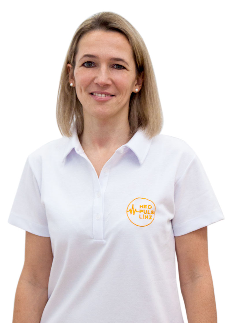 Portrait Physiotherapeutin Sabine Meznik