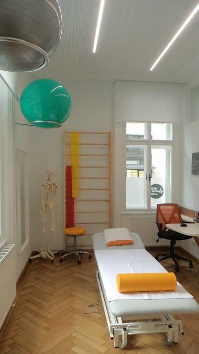 Physiotherapieraum Med Puls Linz