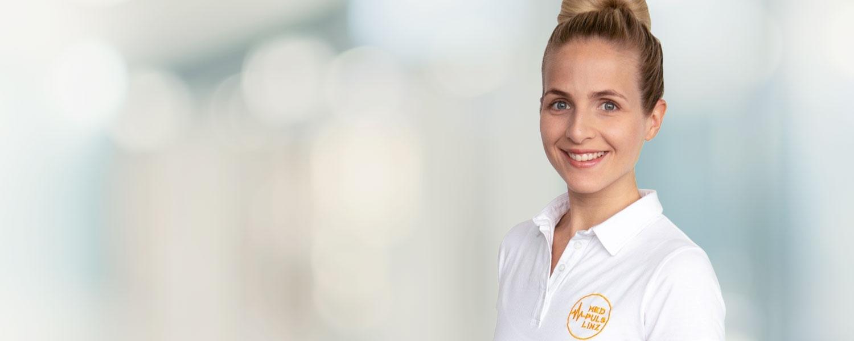 Portrait Physiotherapeutin Sophie Goerisch